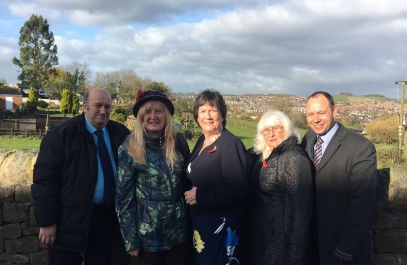 Pauline Latham OBE MP visits Bullsmoor in Belper