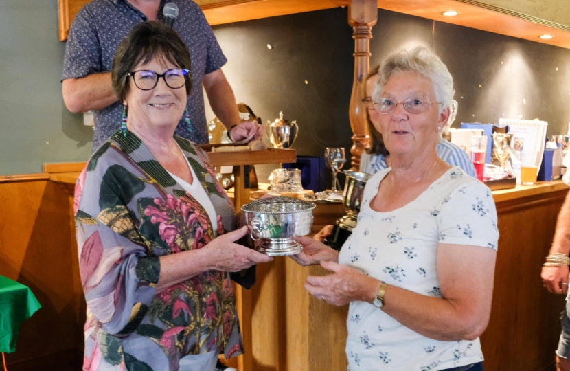 Pauline Latham OBE MP visits Spondon Horticultural Show